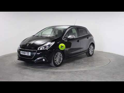 Peugeot 208 1.2 PureTech 82 Allure 5dr Hatchback Petrol BlackPeugeot 208 1.2 PureTech 82 Allure 5dr Hatchback Petrol Black at Rodgers of Plymouth Ltd Plymouth