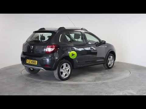 Dacia Sandero Stepway 0.9 TCe Ambiance 5dr [Start Stop] Hatchback Petrol GreyDacia Sandero Stepway 0.9 TCe Ambiance 5dr [Start Stop] Hatchback Petrol Grey at Rodgers of Plymouth Ltd Plymouth