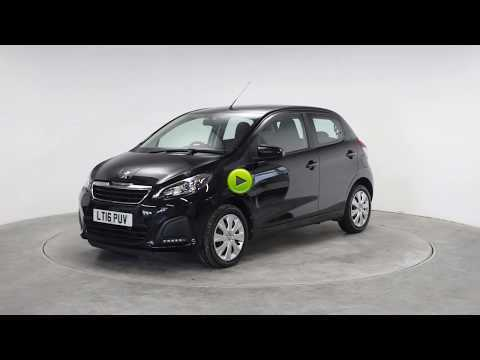 Peugeot 108 1.0 Active 5dr Hatchback Petrol BlackPeugeot 108 1.0 Active 5dr Hatchback Petrol Black at Rodgers of Plymouth Ltd Plymouth