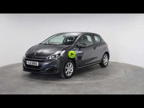 Peugeot 208 1.2 PureTech 82 Active 3dr Hatchback Petrol GreyPeugeot 208 1.2 PureTech 82 Active 3dr Hatchback Petrol Grey at Rodgers of Plymouth Ltd Plymouth