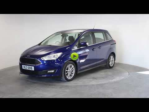 Ford Grand C-MAX 1.5 TDCi Zetec 5dr MPV Diesel BlueFord Grand C-MAX 1.5 TDCi Zetec 5dr MPV Diesel Blue at Rodgers of Plymouth Ltd Plymouth