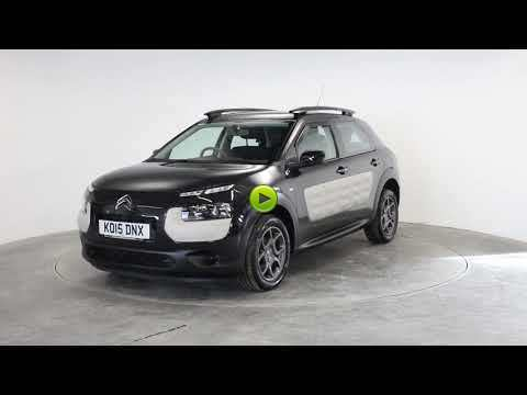 Citroen C4 Cactus 1.6 BlueHDi Feel 5dr Hatchback Diesel BlackCitroen C4 Cactus 1.6 BlueHDi Feel 5dr Hatchback Diesel Black at Rodgers of Plymouth Ltd Plymouth