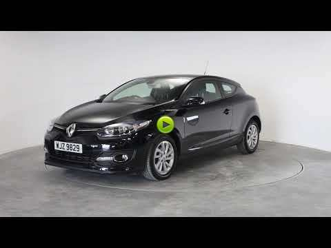 Renault Megane 1.5 dCi Dynamique TomTom Energy 3dr Coupe Diesel BlackRenault Megane 1.5 dCi Dynamique TomTom Energy 3dr Coupe Diesel Black at Rodgers of Plymouth Ltd Plymouth